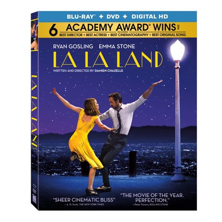 La La Land  Blu Ray   Dvd