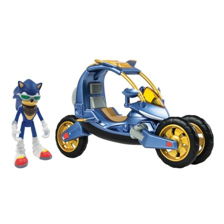 Sonic the Hedgehog, Collector Series Sonic Boom Blue Force One 3-in-1 Toy Vehicle