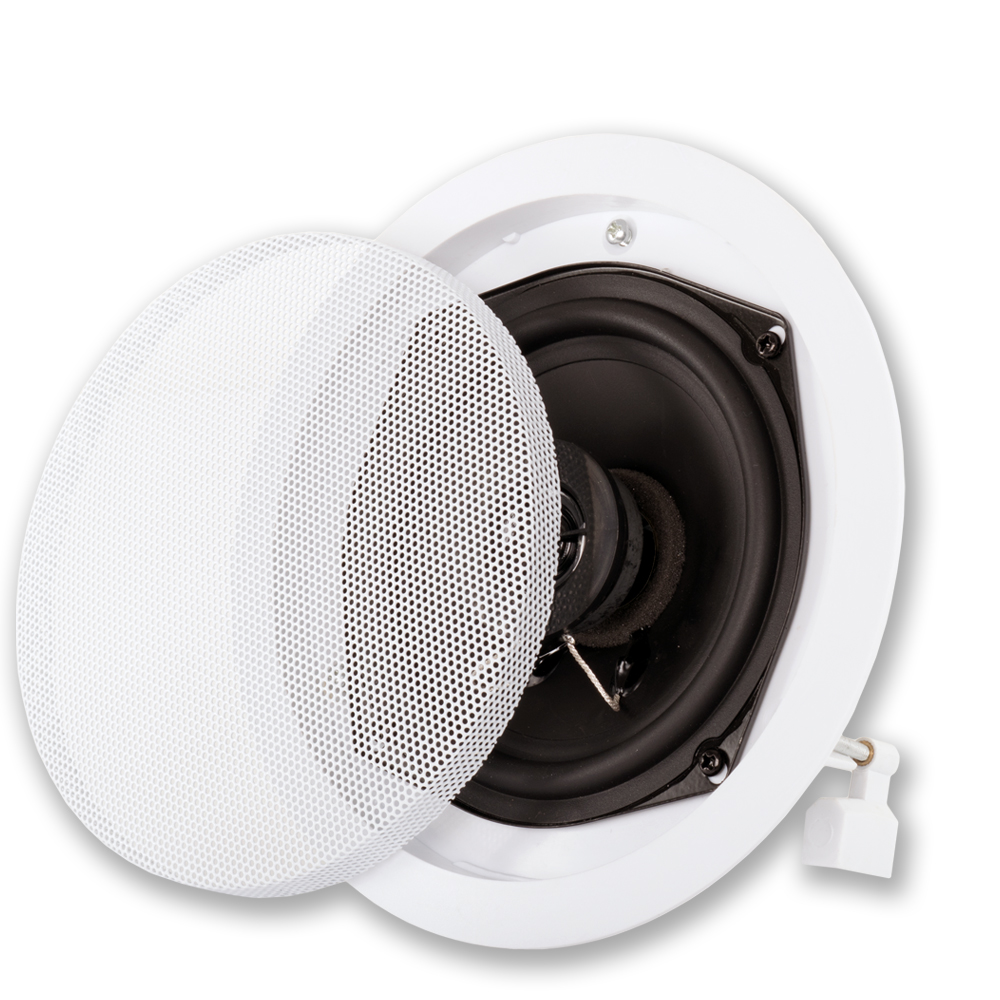 Acoustic Audio R191 In Ceiling / In Wall Speaker 2 Way Home Theater 200 Watt