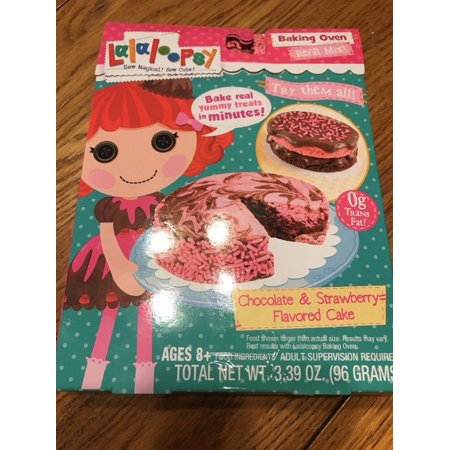 Lalaloopsy Baking Oven Mix- Chocolate & Strawberry Cake Ships N