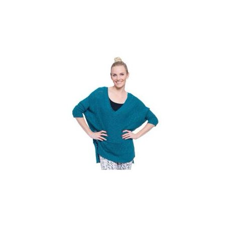 Big & Tall Soybu Brandi V-Neck Tunic Sweater - Women's Plus Size, Size: