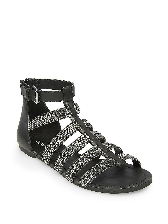 Anise Rhinestone Embellished Sandals