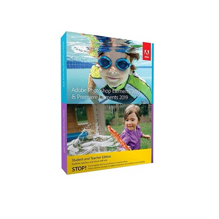 Adobe Photoshop Elements 2019 & Premiere Elements 2019 Student and (Best Photoshop For Home Use)