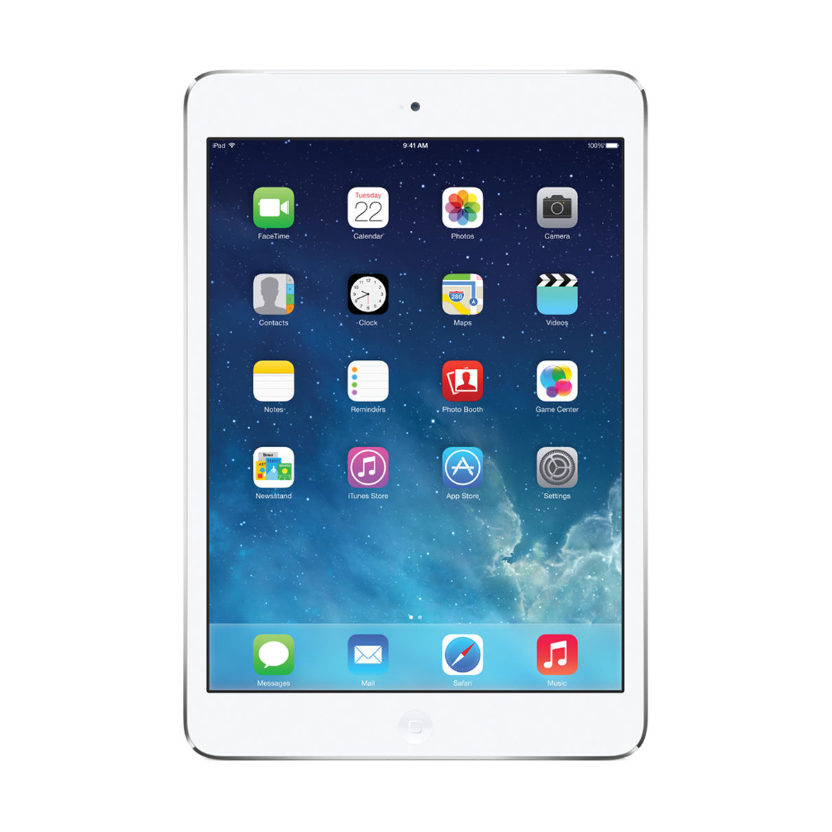 "Refurbished Apple iPad Mini 2 7.9"" Retina Display 16GB WiFi Tablet, White Silver - ME279LL/A"