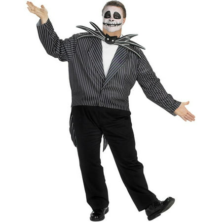 Nightmare Before Christmas Jack Skellington Adult Halloween Costume](Jack Skellington Halloween Town Song)