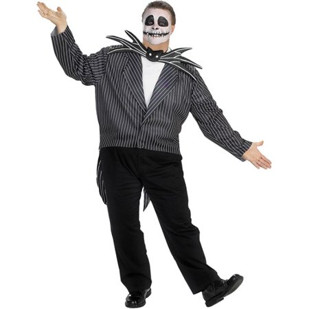 nightmare before christmas jack skellington adult halloween costume - Jack From Nightmare Before Christmas
