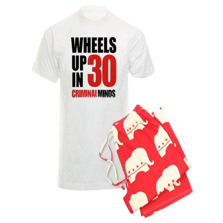 CafePress - CafePress - Wheels Up In 30 - Men s Light Pajamas - Walmart.com d3623625d