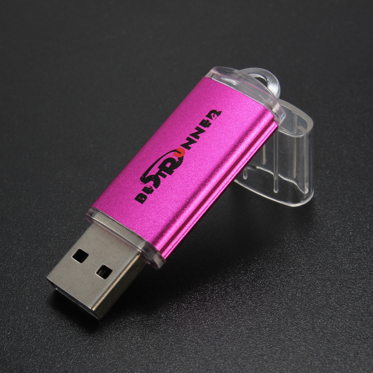 BESTRUNNER 1GB USB 2.0 Flash Drive Pen Bright Memory Stick Thumb U Disk,Silver color