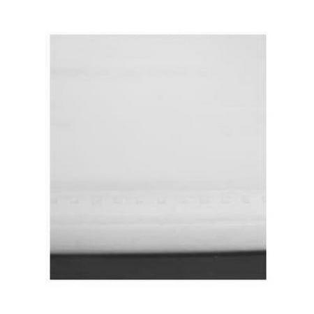 Levolor/Hunter Douglas SRSHWD3707801D Window Shade, Room Darkening, White Vinyl, 37 x