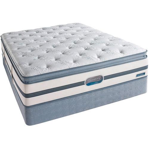 Simmons Beautyrest Recharge Mattress Set Luxury Pillow