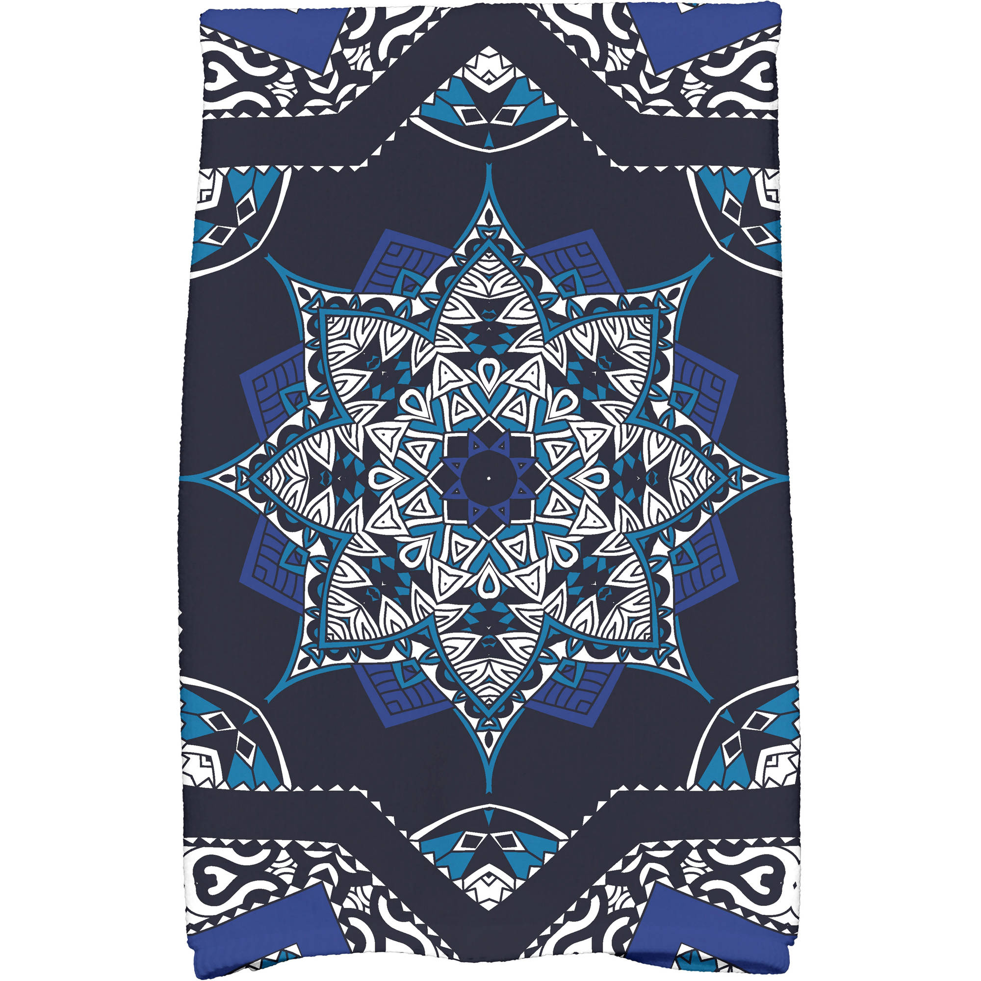 "Simply Daisy 16"" x 25"" Shawl Geometric Print Kitchen Towel by E By Design"