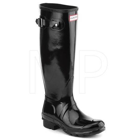 Hunter Women's Original Tall Rain Boot-black (6) - Hunter Boots Child