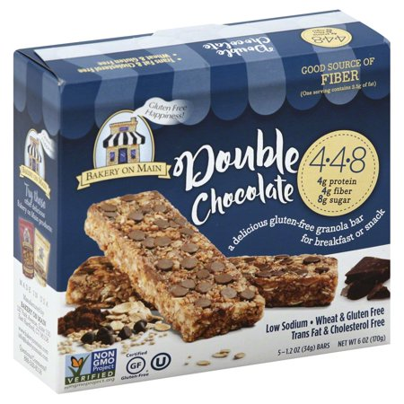 Bakery On Main Double Chocolate Gluten Free Granola Bar   5 Ct