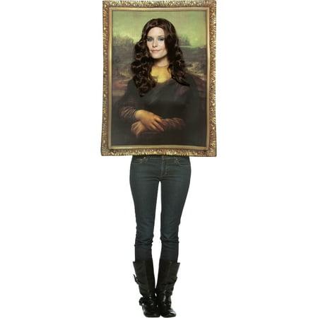 Lisa Turtle Costume (Mona Lisa Women's Painting)