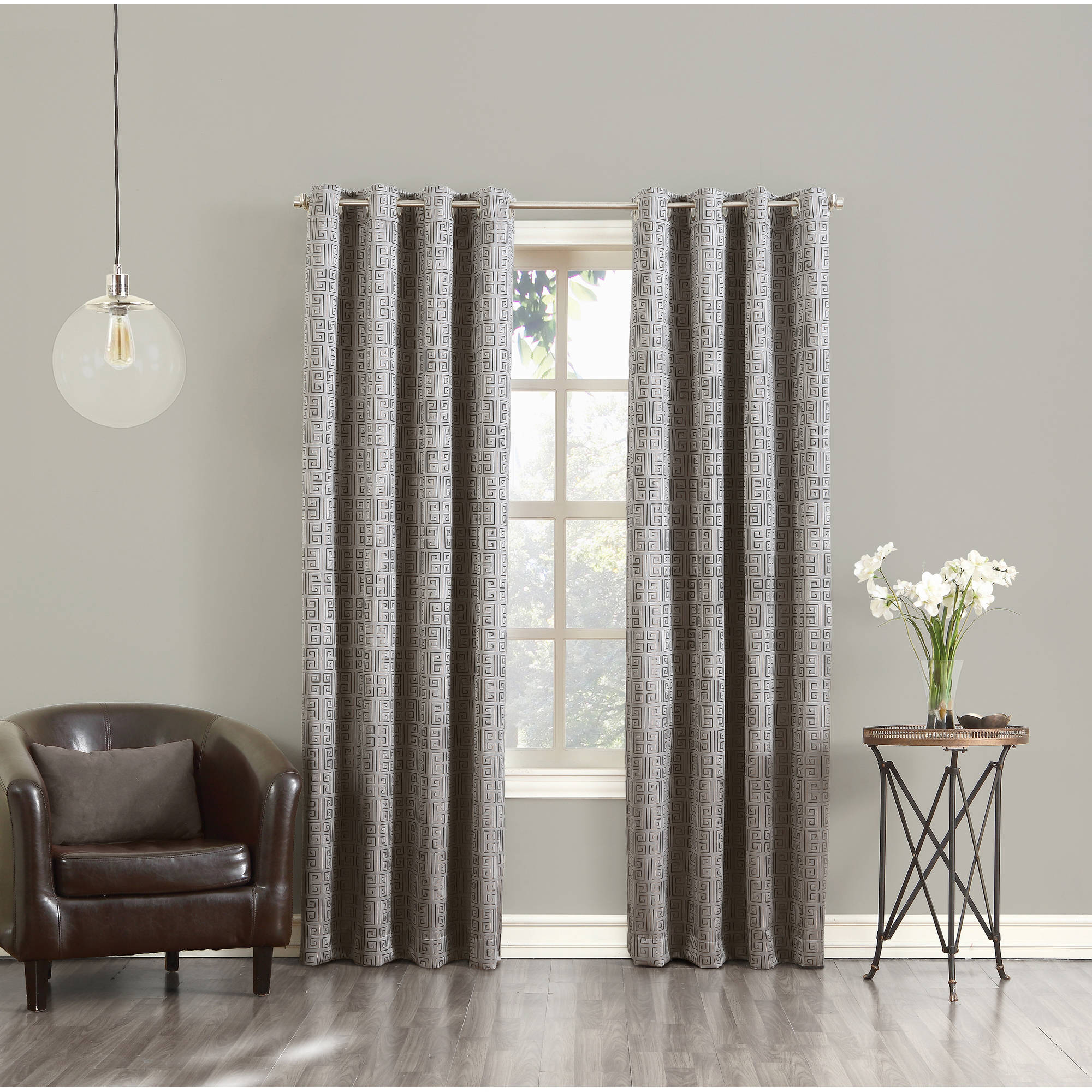 Sun Zero Tracie Blackout Energy Efficient Grommet Curtain Panel