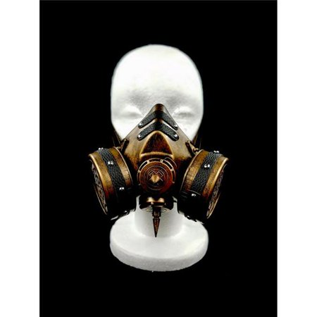 Kayso GSM007GD Steampunk Gas Mask & Adjustable, Gold](Steampunk Mask)