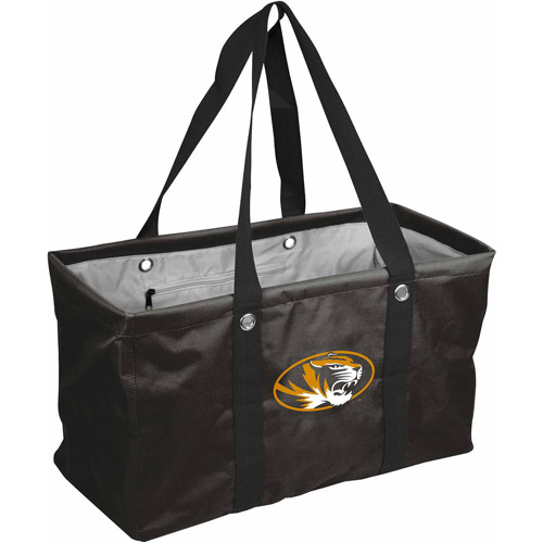 Missouri Tigers Official NCAA 22 inch  x 10 inch  x 12 inch  Picnic Caddy Tote Bag by Logo