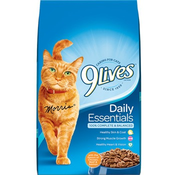 9 Lives Daily Essentials Dry Cat Food, 28 lb by Big Heart Pet Brands