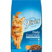 9 Lives Daily Essentials Dry Cat Food, 28 lb