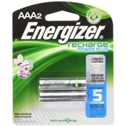 Energizer AAA Rechargeable Nickel Metal Hydride Battery - 2 Pack