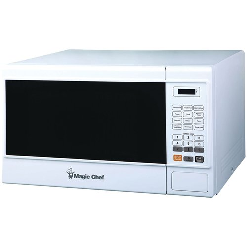 Magic Chef Mcm1310w 1.3 cu ft Countertop Microwave, White