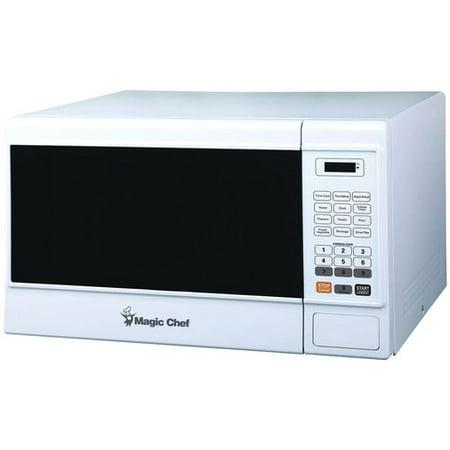Magic Chef Mcm1310w 1.3 cu ft Countertop Microwave, White