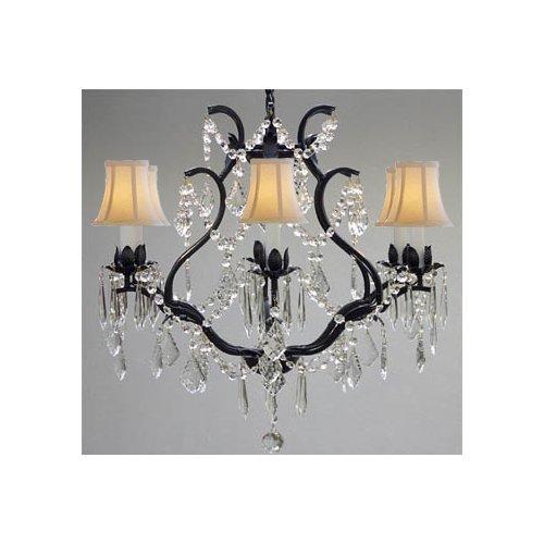 Gallery Harrison Lane Versailles 6-Light Crystal Chandelier