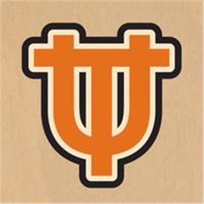 ArteHouse 0002-7258 University of Texas Seal 18 Inch Round Wood Sign