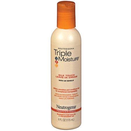 Neutrogena Triple Moisture Silk Touch Leave-In Conditioner, 6 fl oz