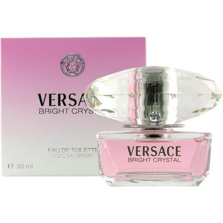 Versace Bright Crystal Eau De Toilette Spray Natural Spray