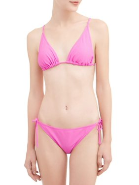 0271b0afbd033d Product Image Juniors  Solid Triangle Swimsuit Top
