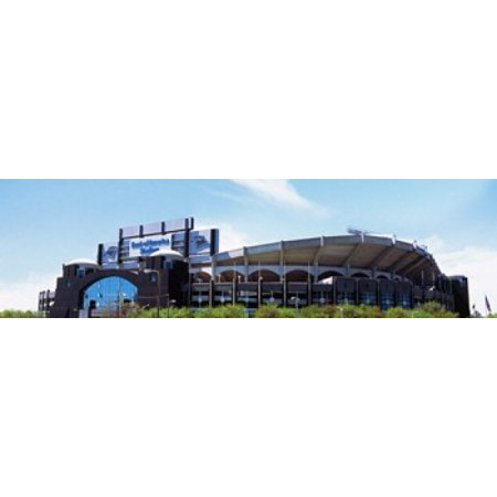 Football Stadium In A City Bank Of America Stadium Charlotte Mecklenburg County North Carolina Usa Canvas Art   Panoramic Images  40 X 12