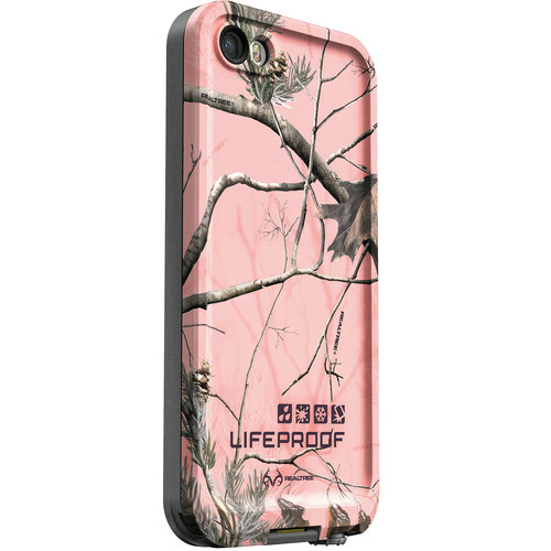 iPhone 5/5SE/5S Lifeproof case fre series, realtree ap pink
