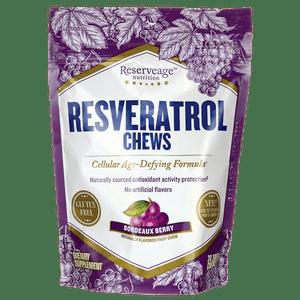 Reserveage Nutrition Resveratrol Chews - Bordeaux Berry 30 Chews