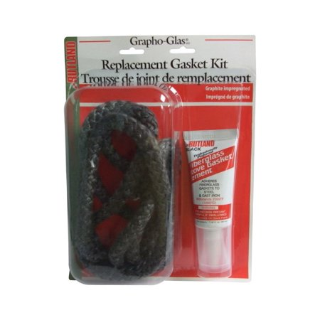 Rutland Products Replacement Stove Gasket (Rutland  Grapho-Glas  Cement/Fiberglass  Rope  Gasket Kit )