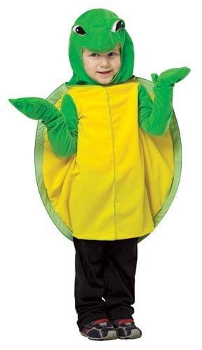 Small 885804 Little Turtle Costume Unisex Size 4-6