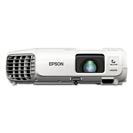 Epson Powerlite 98H Xga 3Lcd Projector  3000 Lumens  1024 X 768 Pixels  1 2X Zoom