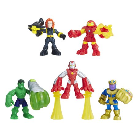 Playskool heroes marvel super hero adventures the power up squad (Elektra Superhero)