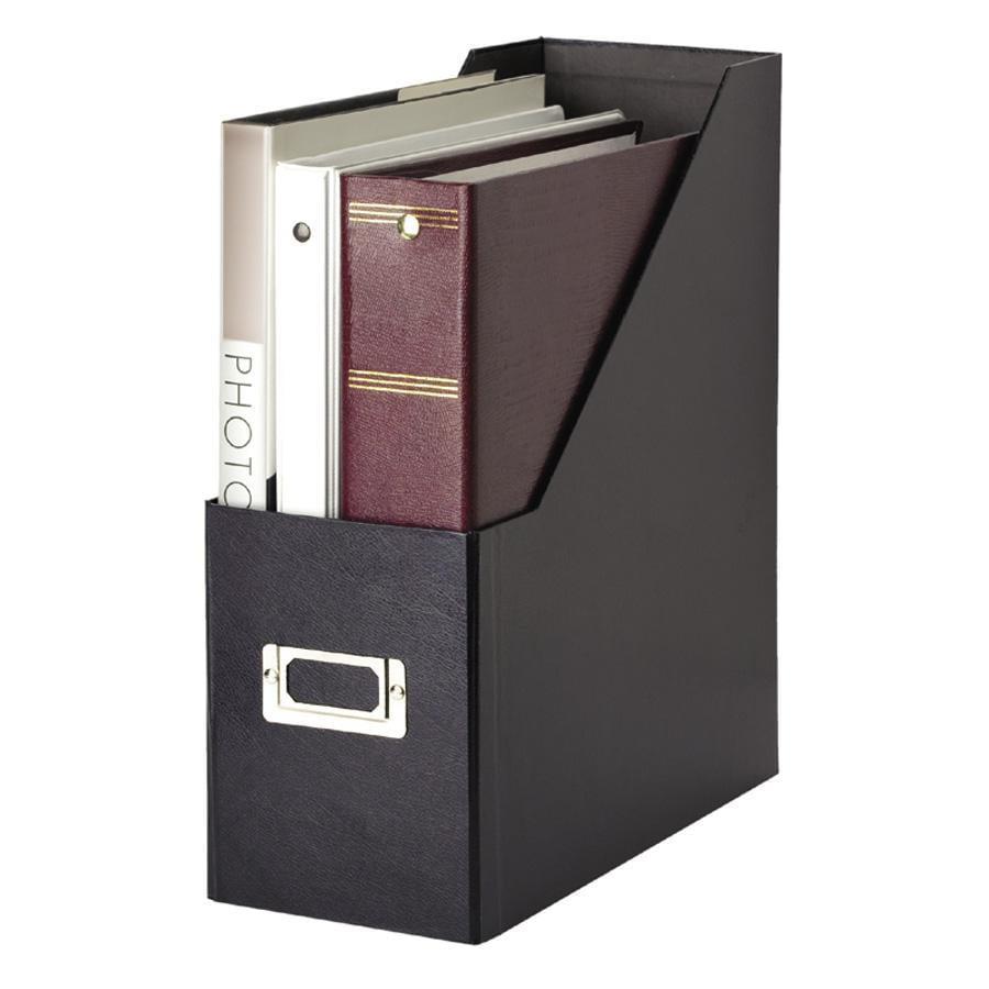 Snap-N-Store, IDESNS01637, Plastic Magazine File, 1 Each, Black