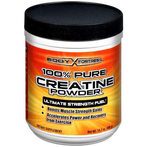Body Fortress: 100% Pure Creatine Powder Dietary Supplement, 14.1 oz