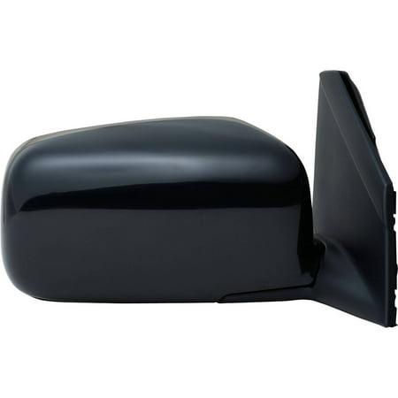 - 68039N - Fit System Passenger Side Mirror for 04-15 Nissan Titan S, 04-10 Titan XE, textured black, foldaway, Manual