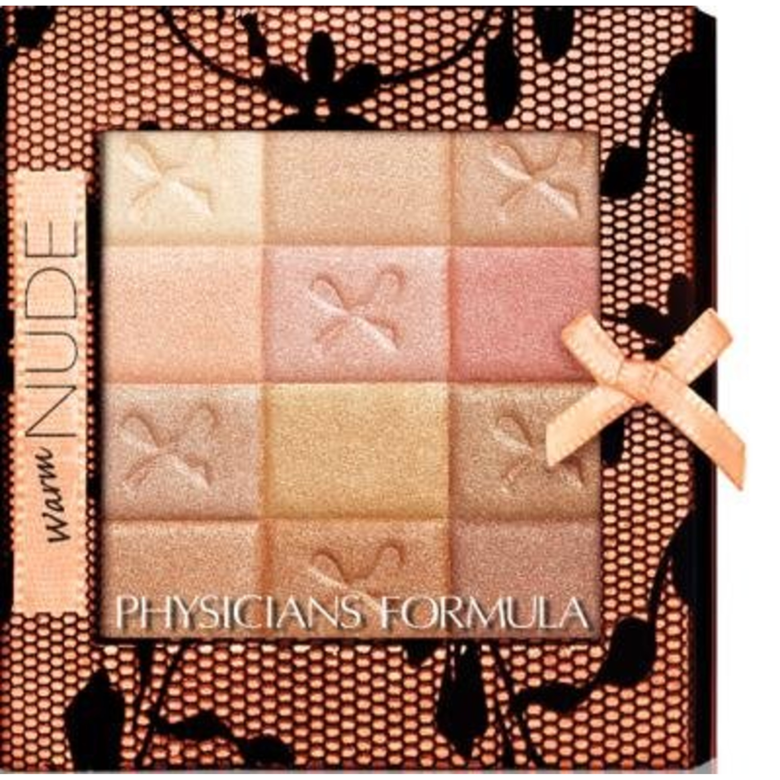 Physicians Formula Shimmer Strips Custom All-in-1 Nude Palette for Face & Eyes - Warm Nude