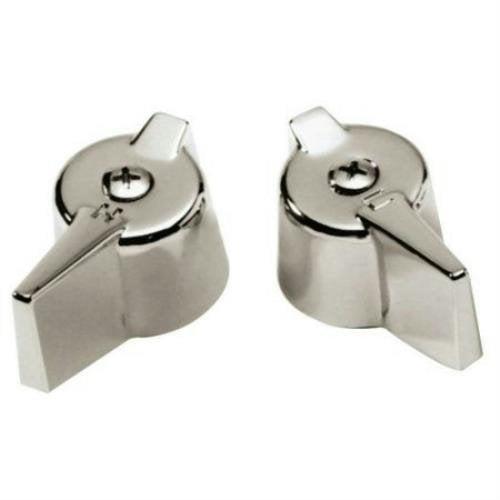 Master Plumber 5909C Lav/Sink Chrome Faucet Handles for Gerber 819 604