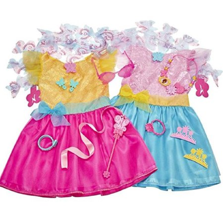 Disney Fancy Nancy Dress Up Outfit Clothes Costume For Girls 13 Pieces Trunk Fits Size 4-6X - Military Dress Up Outfits