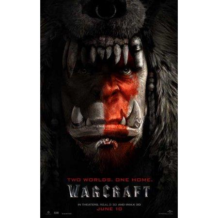 Warcraft  2016  11X17 Movie Poster
