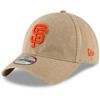 San Francisco Giants New Era Core Classic Secondary 9TWENTY Adjustable Hat - Khaki - OSFA