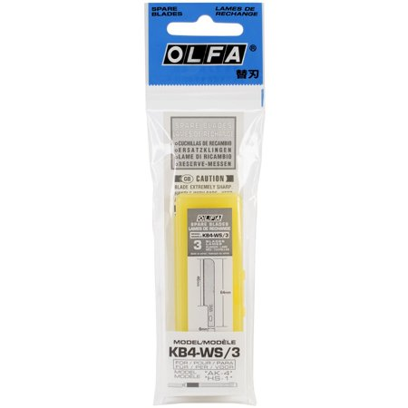 9170 KB4-WS/3 Saw Art Blade, 3-Pack..., By OLFA Ship from - Olfa Art