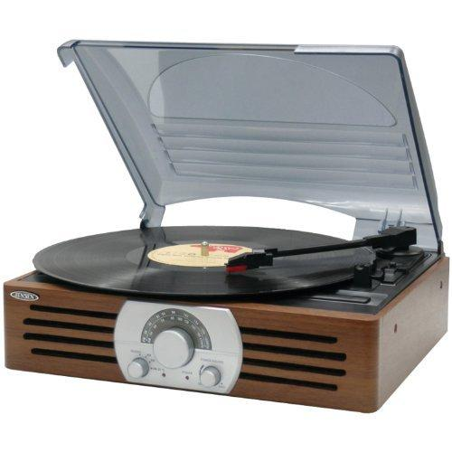 Jensen JTA-222 3-Speed Turntable by Jensen