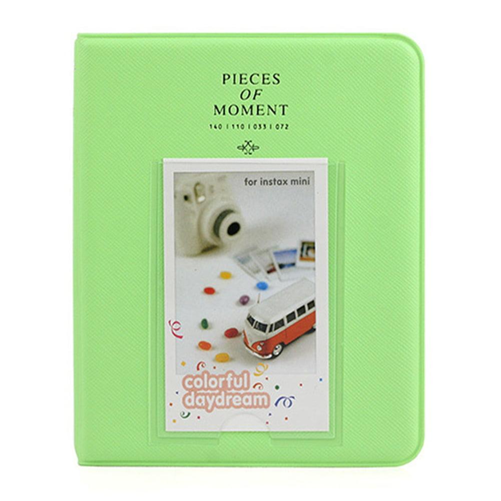 64 Pockets Album Case Storage for Polaroid Photo FujiFilm Instax Mini Film Size