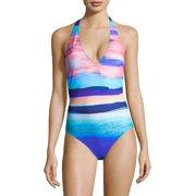 Seascape One-Piece Halter Swimsuit